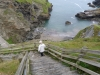 Down the steps at Tintagel