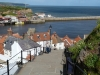 The 199 steps in Whitby